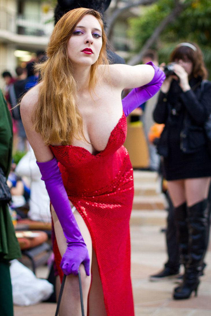 Grace Lescar As Jessica Rabbit.