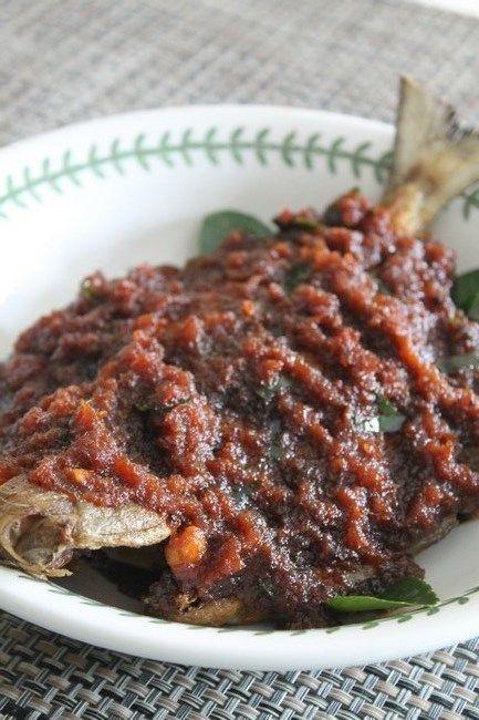 Azie Kitchen: Ikan Sambal Ala Masakan Gerai Jalan Kelawei