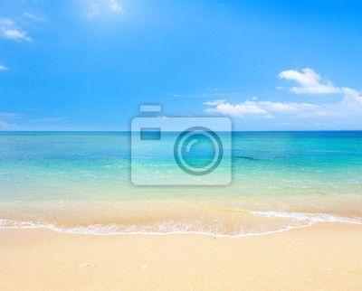 Fototapete Strand und tropischen Meer