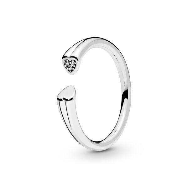 anello pandora due cuori