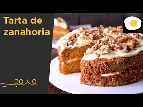 La mejor carrot cake del mundo (tarta de zanahoria). Repostería - YouTube