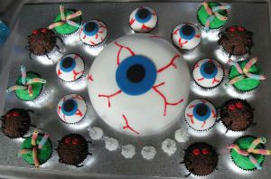 Hidden lessons for kids when making a science party cake