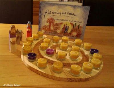 Advent, Adventsspirale, Adventskalender, Adventskranz, Waldorf, Montessori