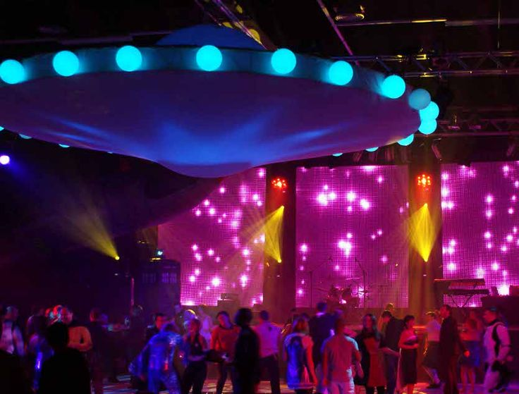 Club theme ideas google search futuristic party outer for Outer space decor