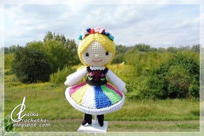 Lalka Crochetka: The Chubby-Dumpling doll ... Lalka Pyza