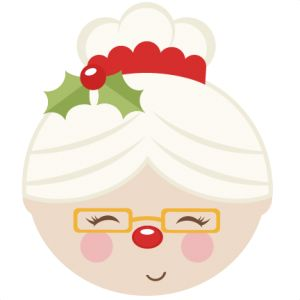 Mrs Claus cut files for cricut  SVG cutting files for scrapbooking cute cut files christmas svg cut files free svgs