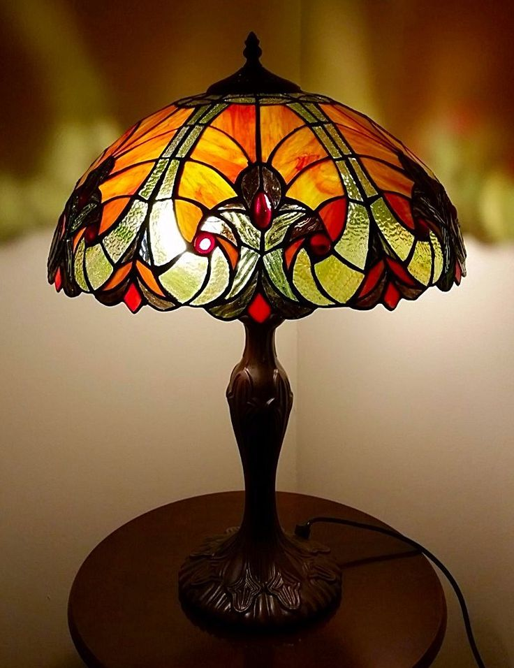 Royce 16inch Tiffany Lights Table Lamp: Amazon.co.uk: Lighting
