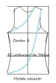 Como hacer una blusa cruzada desde el hombro