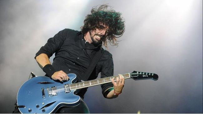 Police's puntastic safety message hits the right note at Foo Fighters gig
