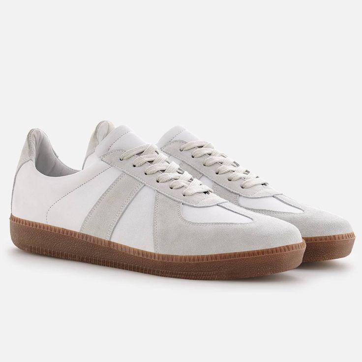Morgen Trainer - Full grain Leather - White