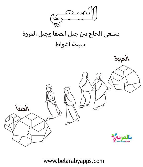 Hajj And Umrah Coloring Pages Muslim Kids Activities Belarabyapps Muslim Kids Activities Islamic Kids Activities Muslim Kids