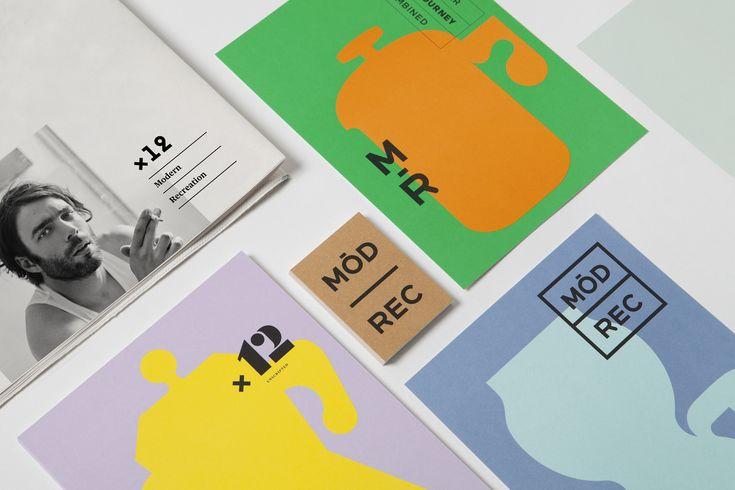 Modern Recreation Branding by blok design https://mindsparklemag.com/design/modern-recreation-branding/