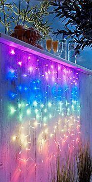 LED-Lichtervorhang Regenbogen jetzt bei Weltbild.de bestellen