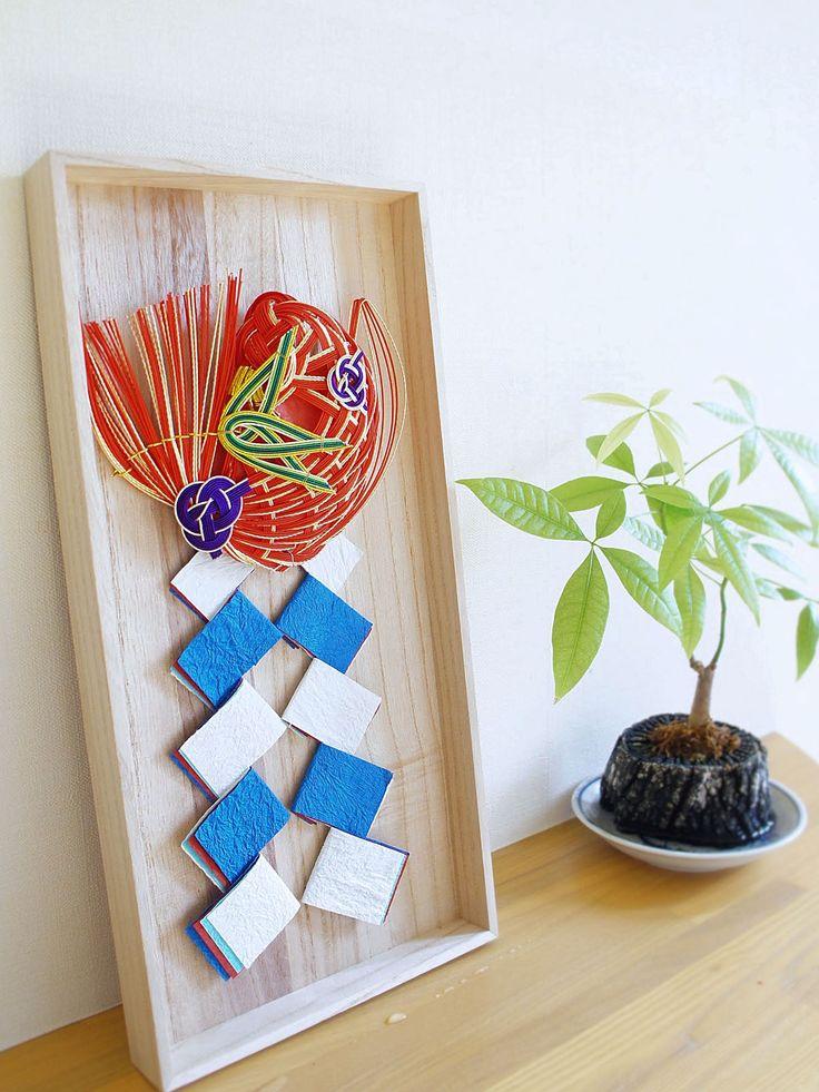 日本の伝統美とモダンさが融合したお正月飾り~もういくつ寝るとお正月)