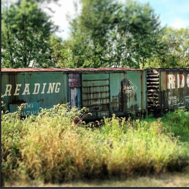 #abandoned #trains #railroad #railyard #traintracks