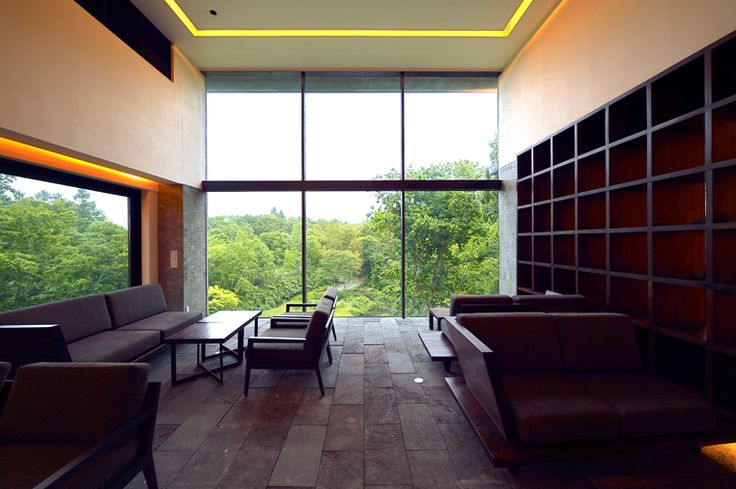 The Living Room    坐忘林 zaborin.com   Architect: nA Nakayama Architects   Photographer: Ken Goshima