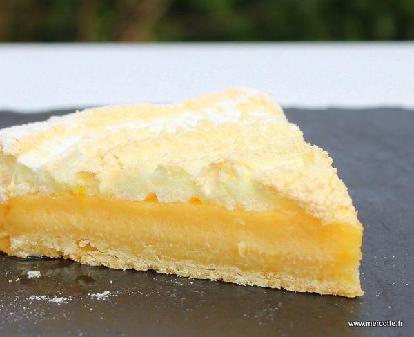 Tarte au citron meringuée traditionnelle de Thierry Mulhaupt