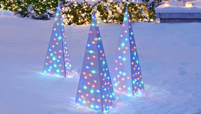 Genius Outdoor Christmas Light Ideas The Garden Glove Decorating With Christmas Lights Outdoor Christmas Lights Christmas Lights