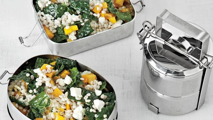 Barley and Kale Salad with Golden Beets and Feta | Bon Appetit Recipe