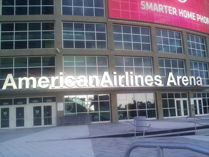 American Airlines Arena; Home of the Miami Heat