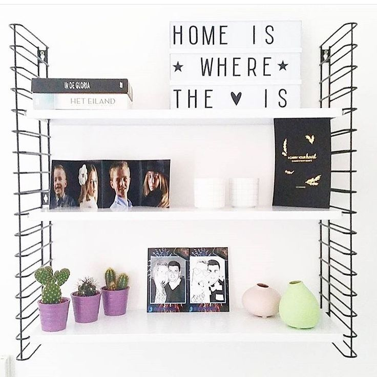 Home is where the Tomado shelf is!