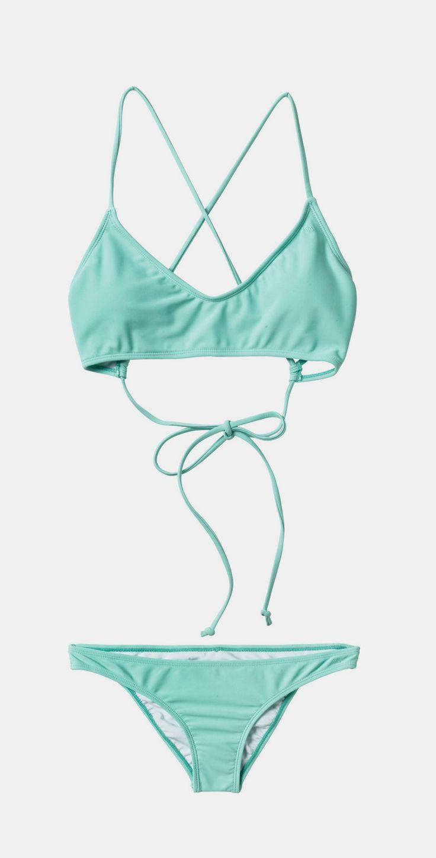 turquoise bathing suit