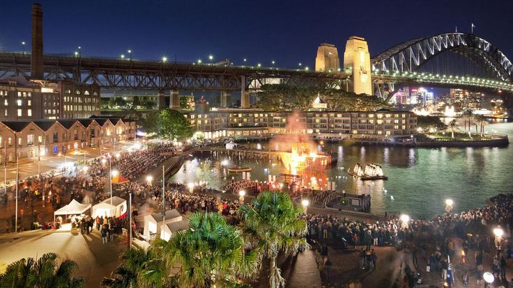 Campbell's Cove, The Rocks, Sydney, NSW. © Destination NSW & Hamilton Lund