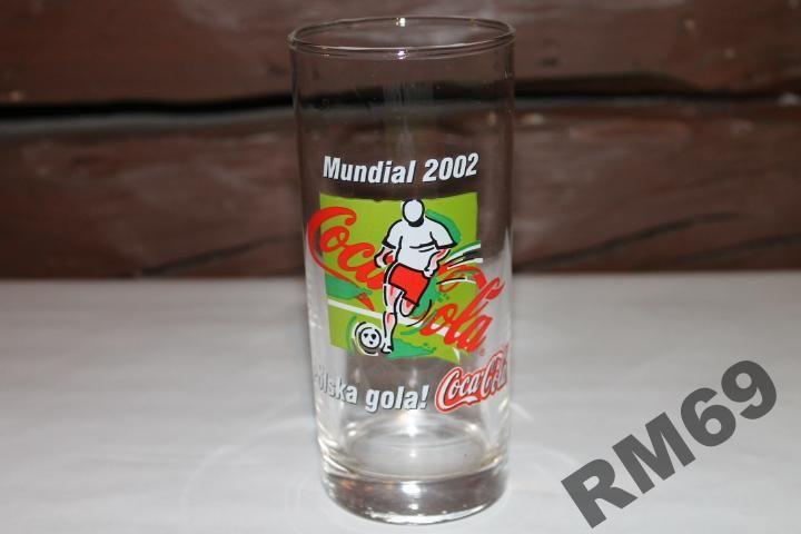 SZKLANKA COCA COLA MUNDIAL 2002 DLA KOLEKCJONERA