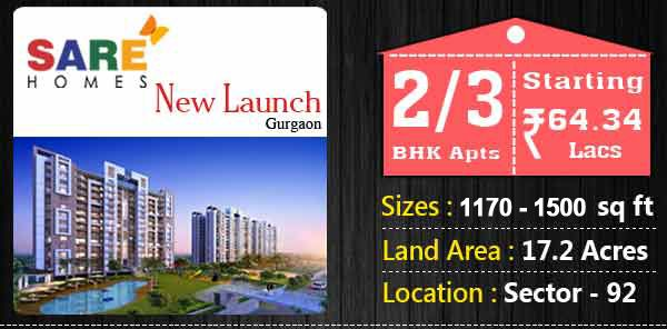 SARE Homes New Launch 2/3 BHK starting Rs. 64.34 Lacs