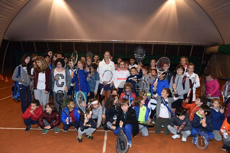 Ekaterina Makarova a Treviso. #tennis #lottosport