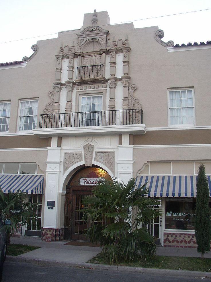 El Paisano Hotel in Presidio County, Texas.