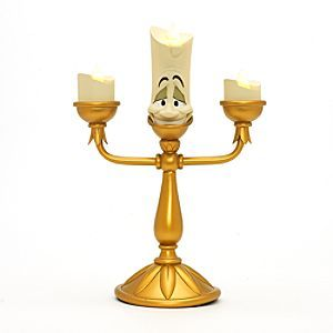 Disneyland Paris Lumière Light-Up Figurine | Disney StoreDisneyland Paris Lumi�re Light-Up Figurine - Our Lumi�re figurine is sure to cast a magical glow. The suave candelabra from Beauty And The Beast features three lights that flicker like flames - be our guest and welcome him into your home!