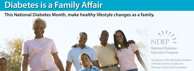 Use this National Diabetes Month image as your #Facebook cover photo for the month of #November.