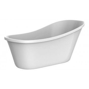 Kylpyamme Camargue Siljan 160 Valkoinen - Bauhaus