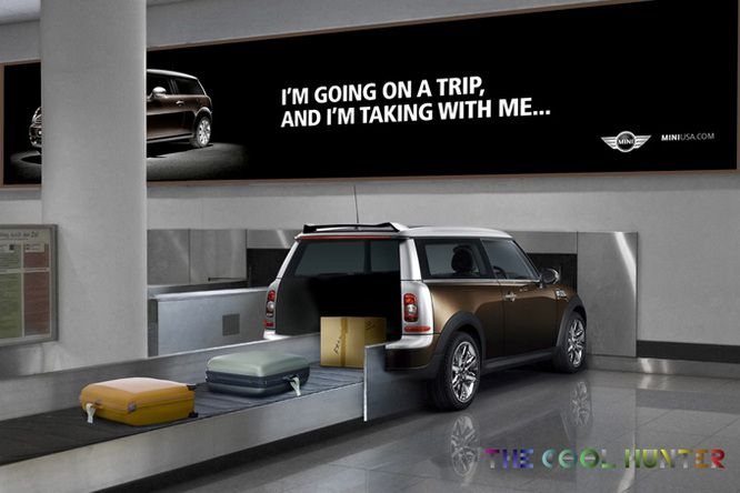"#MiniClubman Cooper ""I'm Going on a Trip, and I'm Taking With Me ..."""