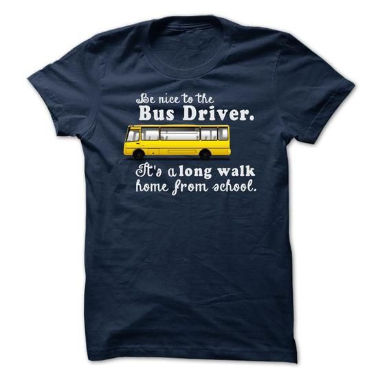 Limited Edition- To The Bus Driver. NOT SOLD IN STORES Other styles and colors are available in the options. Choose your style and color below **30 Day 100% Satisfaction GUARANTEED **100% Safe & Secure Checkout **VERY High Quality Tees & Hoodies IMPORTANT :Buy 2 or more and get discounted shipping.