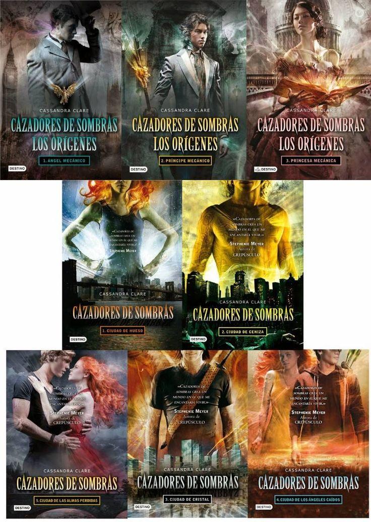 Cazadores De Sombras (5 Libros) + Los Origenes (3 Libros) - $ 10.000 en…
