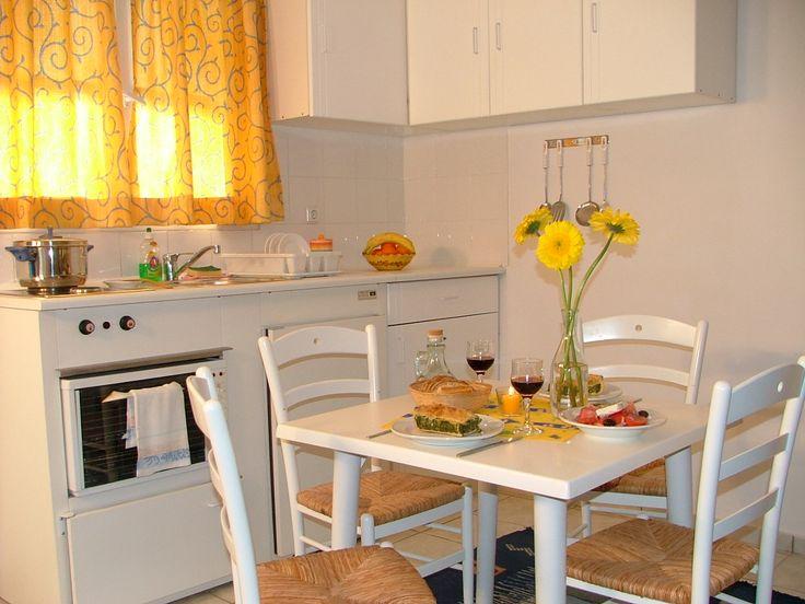 Daphne's Club studio kitchen