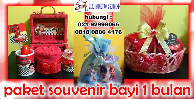 Jual paket souvenir bayi 1 bulan