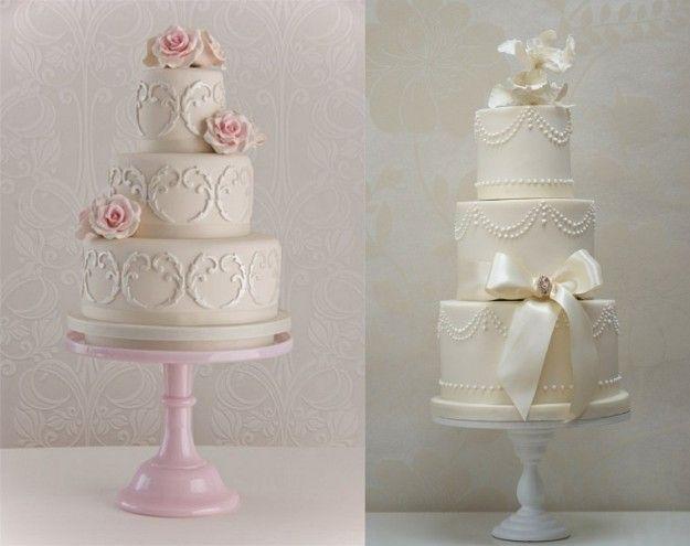 Decorazioni per torte nuziali vintage