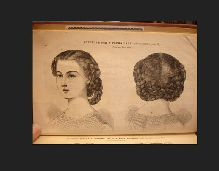 63 best hairstyles for dickens fair images on pinterest civil coiffure for a young lady hairstyles in the civil war period typically had a part in the middle and the hair pulled back into a bun braids or curls ccuart Image collections