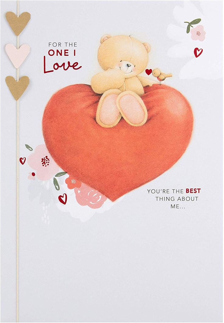 Hallmark forever friends one i love valentines day card