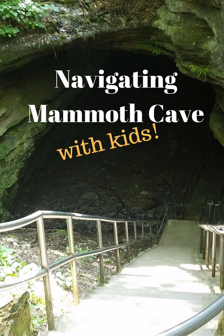 Navigating Mammoth Cave with kids!