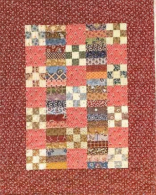Small Joys Civil War Quilt