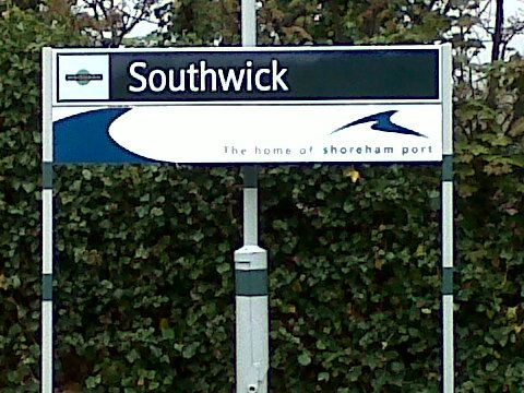 Southwick Railway Station (SWK) in Southwick, West Sussex