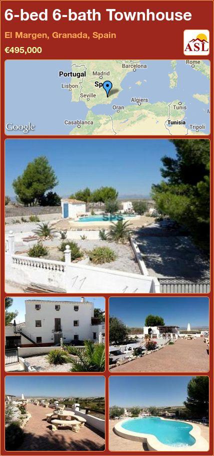 6-bed 6-bath Townhouse in El Margen, Granada, Spain ►€495,000 #PropertyForSaleInSpain