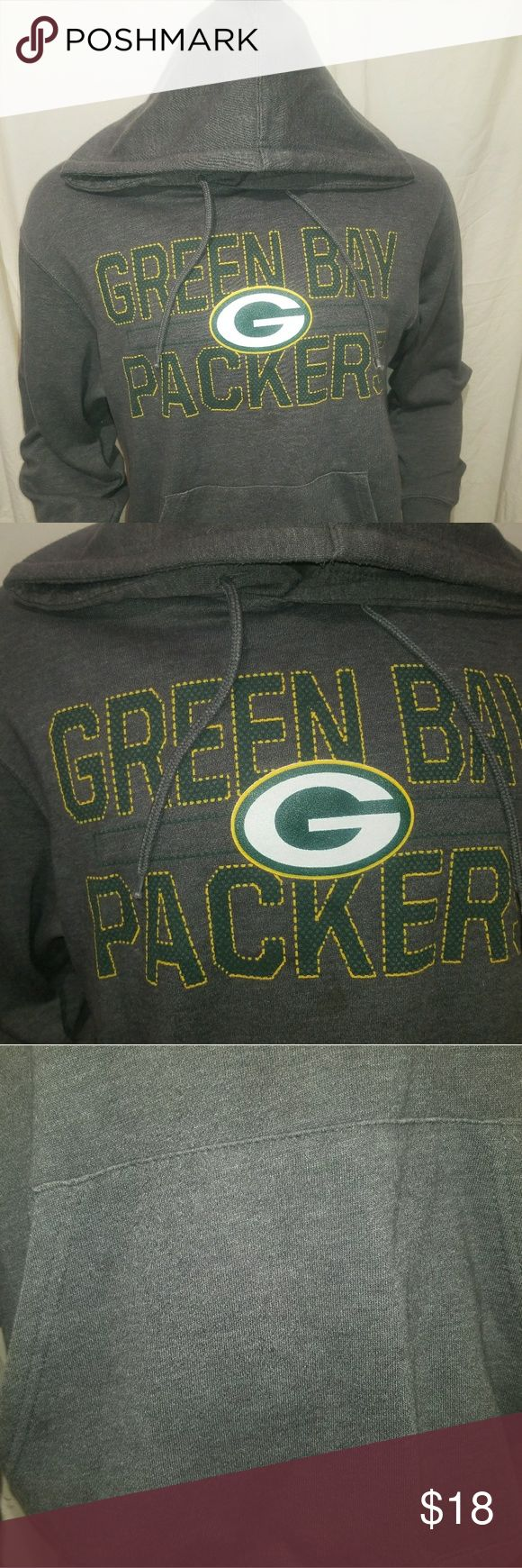 MAJESTIC Green Bay Packers LRG Hoodie Up for sale is a Majestic Large Green Bay Packers Hoodie. It's in great condition * except the size tag was cut off. Otherwise no flaws. Majestic Shirts Sweatshirts & Hoodies