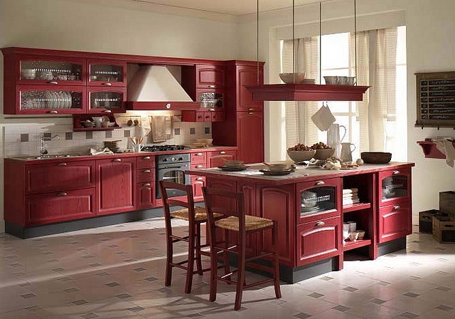 best 25 red country kitchens ideas on pinterest americana kitchen farmhouse warming drawers. Black Bedroom Furniture Sets. Home Design Ideas