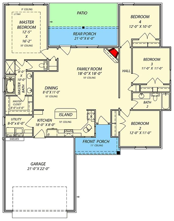 1125 best home images on pinterest floor plans house for Family home plans 82230