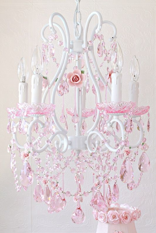 17 Best images about Chandeliers For Girls Room – Girls Crystal Chandelier